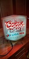 Coors Light Soccer Liga MX Chivas Beer neon Bar sign Cerveza 19x22  AUTHENTIC