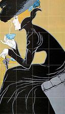 Art Deco Ceramic Mural Backsplash Bath Tea Coffee Tile #638