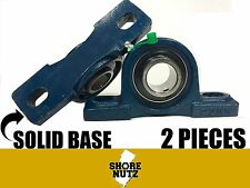 (2 PIECES)  75MM UCP215 SOLID BASE PILLOW BLOCK P215