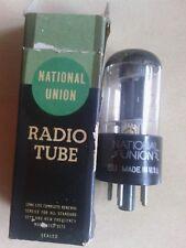 One (1) x 6J5GT/G CV1934 National Union Electron / Vacuum Tube / Valve