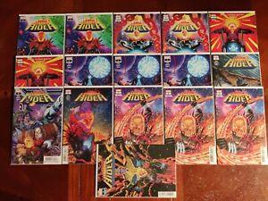 Marvel Comics Cosmic Ghost Rider #1-5 Full Series 16 Variants Comic Book Lot