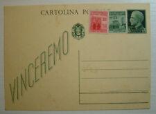 1944 RSI ITALIA 15 centavos más varios jarra sobre CP va a ganar no viaggiata