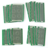 20Pcs Double-Sided Stannum Circuit Board Printed Circuit Board PCB  4*6CM #am8