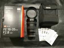 Sony SEL FE 16-35mm F2.8 GM Lens Excellent Condition