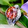Turmalin Brillant Ring BICOLOR SELTEN NIGERIA 6.53 ct 900er PLATIN SWca.5.760.-E