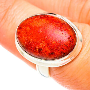 Mandarin Citrine 925 Sterling Silver Ring Size 8 Ana Co Jewelry R75287