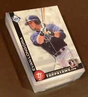 50) EVAN LONGORIA Devil Rays 2010 Topps Toppstown Baseball Card  LOT