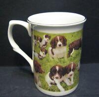 Springer Spaniel Dog Wrap Fine Bone China Mug Cup Beaker Castle Shape