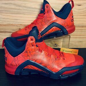 Adidas SM Crazyquick 3 Men's Basketball Shoes Size 13.5 Power Red Floral RARE