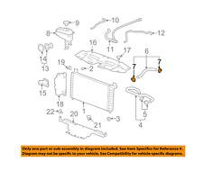 GM 11562099 Genuine OEM Lucerne Avalanche Escalade DTS Lower Radiator Hose Clamp
