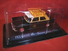 1/43 Peugeot 404 TAXI Buenos Aires Argentina 1962 WORLD TAXI Die Cast