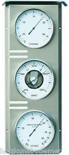 Fischer meteo attesa esterno, barometri, termometri, igrometri, acciaio inox, 823-01