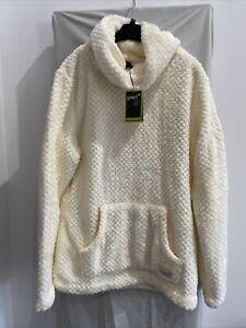 GELERT YUKON Winter White Cowl Neck Jumper Size UK 16