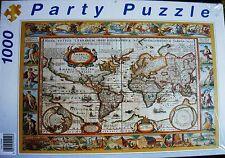 Puzzle - World Map von Clementoni