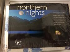 QVC Northern Nights 100% Cotton Brushed Flannel Twin Sheet Set~Discontinued~New