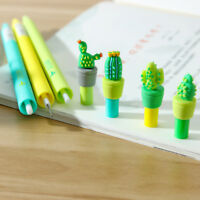 1pcs Novelty Cactus Plastic Mechanical Pencil Automatic Pen Students Stationery
