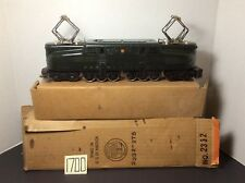 1947-1949 LIONEL #2332 GG-1 LOCOMOTIVE. O Gauge Post War TRAIN in OB