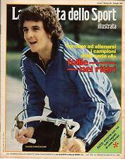 rivista LA GAZZETTA DELLO SPORT ILLUSTRATA ANNO 1981 N. 29 BECCALOSSI