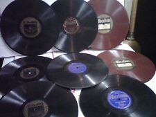 Ben Bernie 78 Collection (8)early vocalion,brunswick