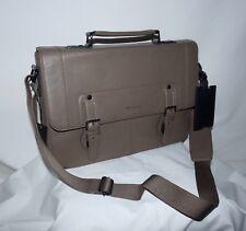 Men s Ted Baker London Miamore Contrast Edge Paint Satchel Bag Color Taupe b3c7e64e26284