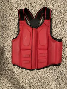 RhinGO Chest Guard Protector Sparring Gear Vest Extra Small (Reversible)