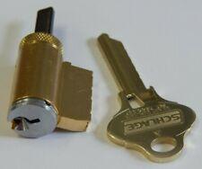 Schlage Cylinder S123 Zero Bitted 626, One Key