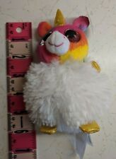 "Fiesta Pom Pals Rainbow Unicorn Plush Toy Stuffed Animal 5"" NWT"