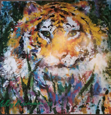 """LeRoy Neiman """"PORTRAIT OF A TIGER"""" Signed Lithograph. Unframed"""