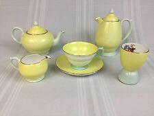 Copelands Grosvenor Partial Breakfast Set Teapot Coffee Pot Cup Egg Cup Creamer