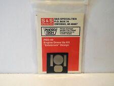 S&S PED-40 1:24-25 PHOTO-ETCHED ENGINE DRESS UP KIT MOC (KS108)