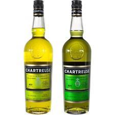 Liquore di erbe Chartreuse Giallo  e Verde  70 cl ultima annata disponibile