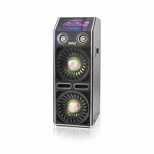 NEW Pyle PSUFM1070P Disco Jam 2 Passive Powered Speaker System  DJ Lights  1500W