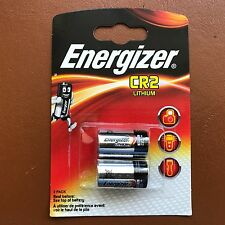 2 x Energizer CR2 3v Lithium Photo Battery DLCR2 - Pack of 2 with Longest Expiry