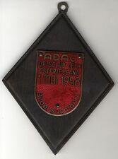ADAC 1.5.1958 CAR BADGE PLACCA SMALTO locale club vuoto Frisia