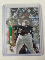 2020 Topps Holiday Luis Robert Rookie RC Chicago White Sox