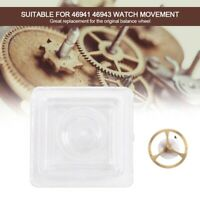 New Parts Watch Balance Wheel Compatible With Orient Movement 46941 46943