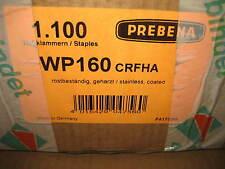 1100 Prebena Breitrücken Klammer WP 160 CRFHA Edelstahl f Holzfaser Wärmedämmung
