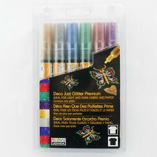 Deco Just Glitter Premium 6 Color Marker Set