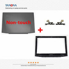 """New Lenovo Y50 Y50-70 15.6"""" Top LCD Back Cover + Front Bezel + Hinges Non-touch"""