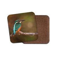 Beautiful Green Kingfisher Coaster - Bird River Fishing Nature Cool Gift #15129