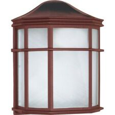 "Nuvo Lighting 1 Light Cfl 10"" Cage Lantern Wall Fixture - 60-582"
