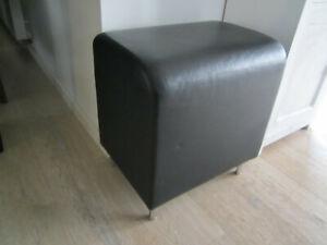 Vitra Bench Designhocker (***TOP***) 1989 Leder schwarz 1-Sitzer