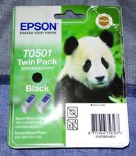 Epson T0501 Twin Pack-Cartuccia di Inchiostro Nero-S020093/S020187