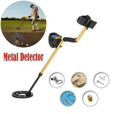 Md3010Ii Lcd Metal Detector Gold Digger Hunter Deep Sensitive Waterproof Coil