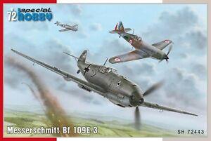 Special Hobby 1/72 Model Kit 72443 Messerschmitt Bf-109E-3