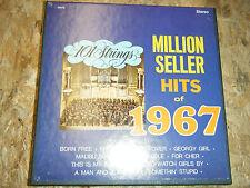 101 STRINGS MILLION SELLER HITS OF 1967 REEL TO REEL 3 3/4 IPS