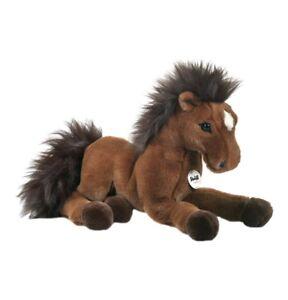 STEIFF Pferd Hanno Schlenker Hannoveraner braun 35 cm 070716 NEU