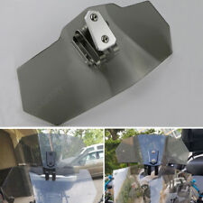Clip on Windscreen For Kawasaki ZX12R KLE500 KLR650 Versys 650 Versys 1000 Gray