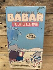 * The Story Of Babar The Little Elephant  VHS 1968