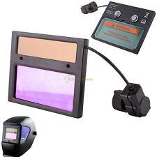Solar Darkening Welding Helmet Mask Goggles Lens Auto UV IR Filter Shade DIN9-13